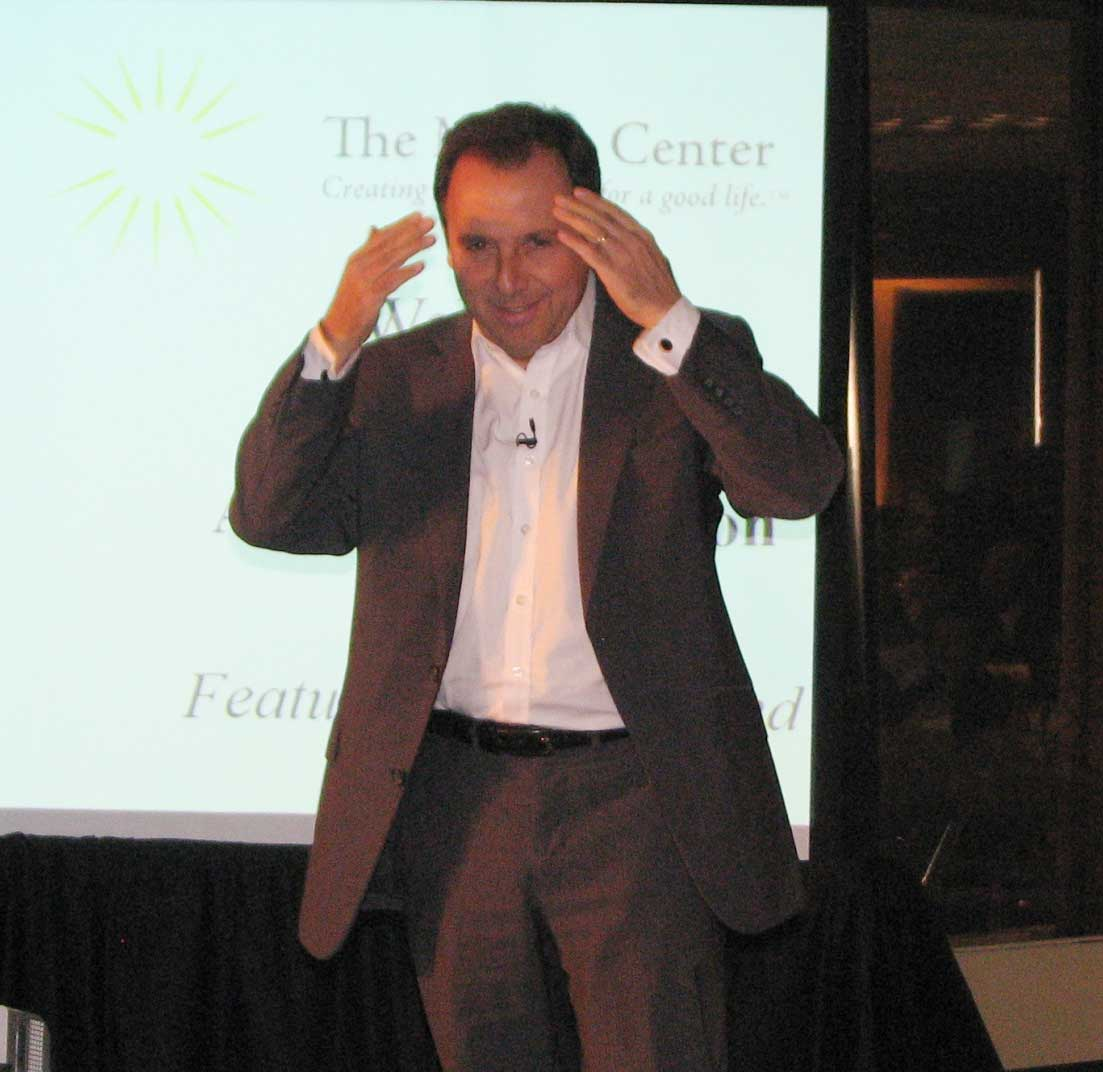 Pulitzer Prize Winning Author Big Hit at Annual Meeting