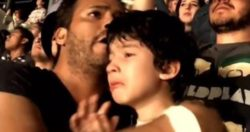 An Autistic Boy Enjoys His Favorite Band's Concert