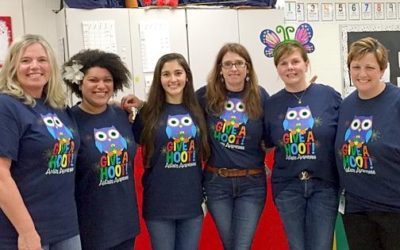 Local School Participates In Autism Awareness Month & Donates To The Moore Center