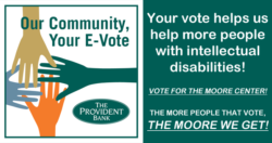 Vote For The Moore Center!