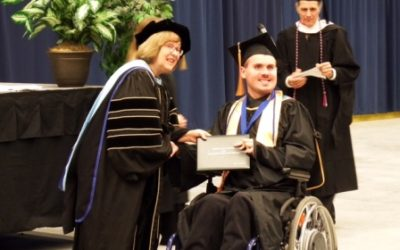 Against Great Odds, Joseph Earns His Degree!